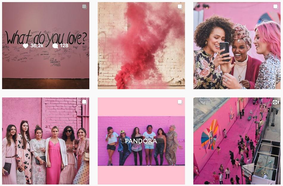 Instagram pandora